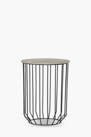 Hudson Metal Side Table