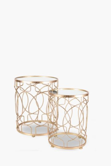Geometric Nested Side Tables