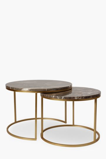 Marble Nested Coffee Table