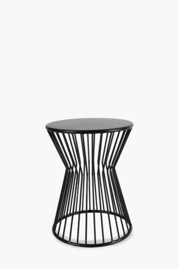 Wire Metal Side Table