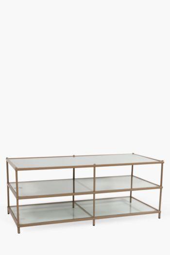 Mirror Glass Coffee Table