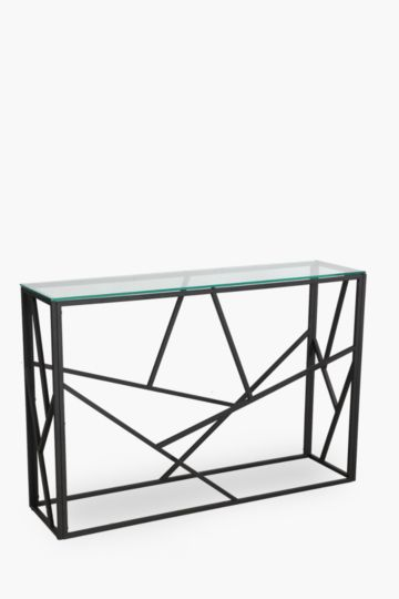 Geometric Metal And Glass Server