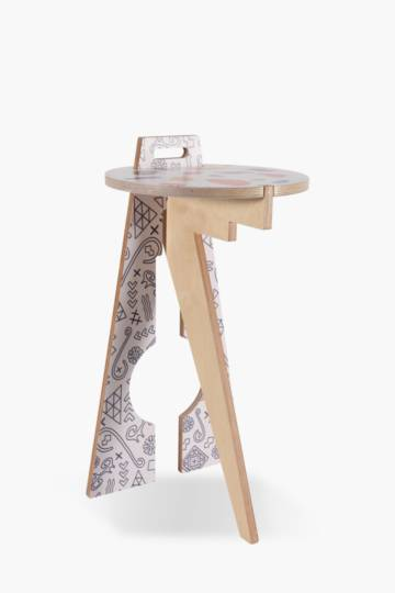 Colab Leg Studios Ubuntu Side Table