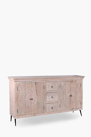 Chapra Carved Sideboard
