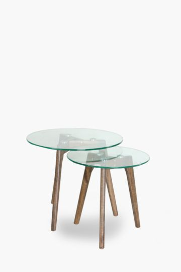 Wishbone Nested Side Tables