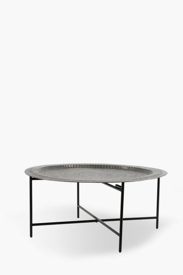 Delicieux Moroccan Metal Coffee Table
