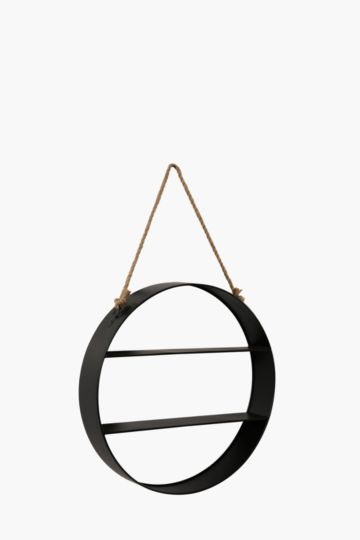 Metal Shelf With Rope Detail