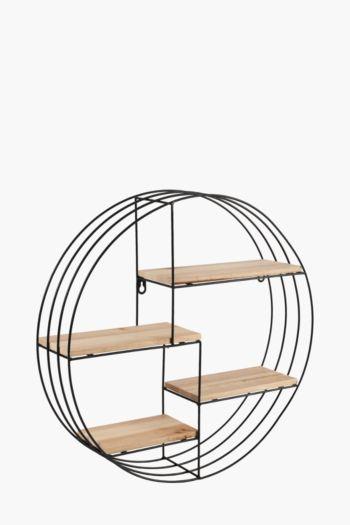 Round Floating Shelf