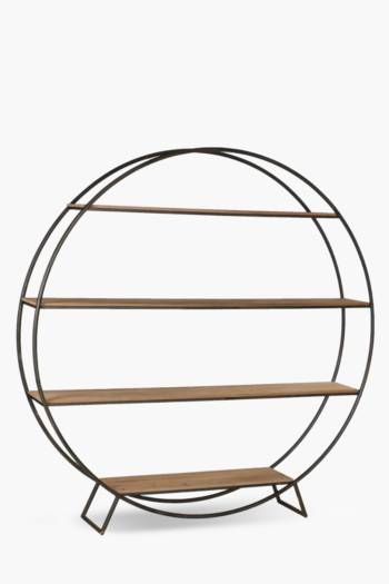 Sawyer Round Bookcase