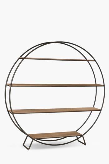 Sawyer Round Bookcase