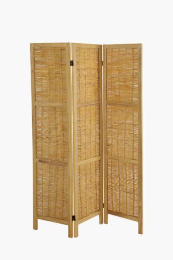 3 Panel Paper Weave Screen