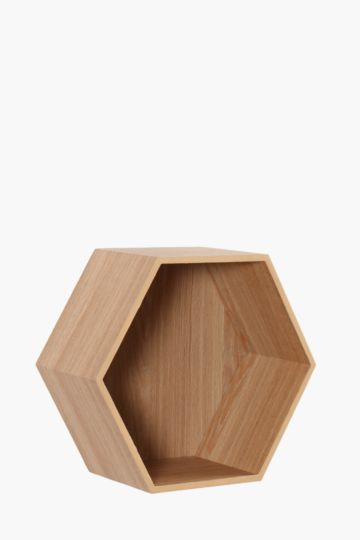 Honeycomb Wall Shelf