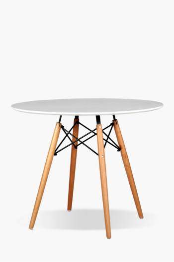 Retro Round Dining Table