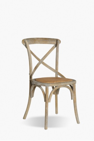 Birch Wood Cross Chair
