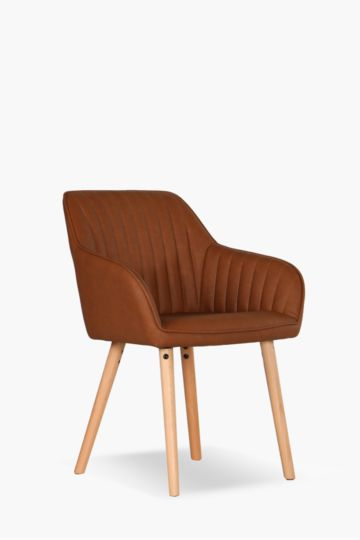 Retro Upholstered Dining Chair