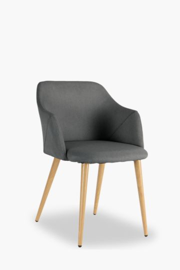 Cruz Upholstered Dining Chair With Arms