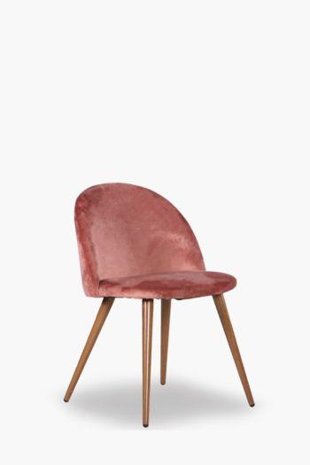 Regency Velvet Chair