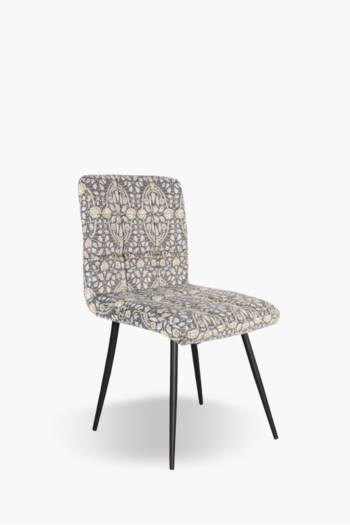 Quilted Velvet Dining Chair