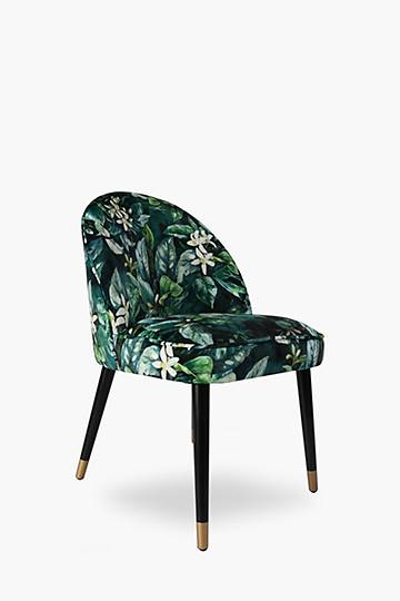 Clam Velvet Dining Chair