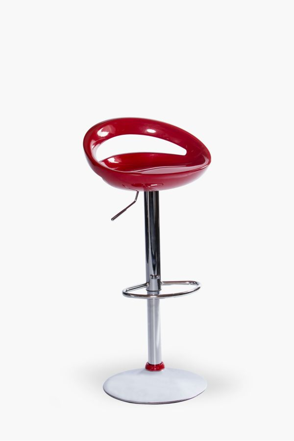 Great Round Acrylic Bar Chair