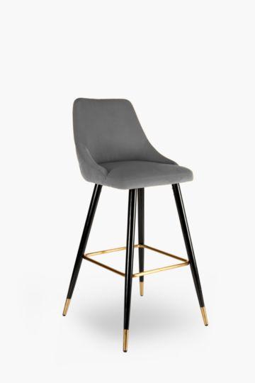 Regal Velvet Bar Chair