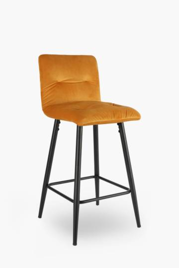 Regal Tuft Velvet Bar Chair