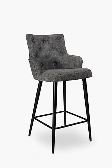 Deep Button Bar Chair