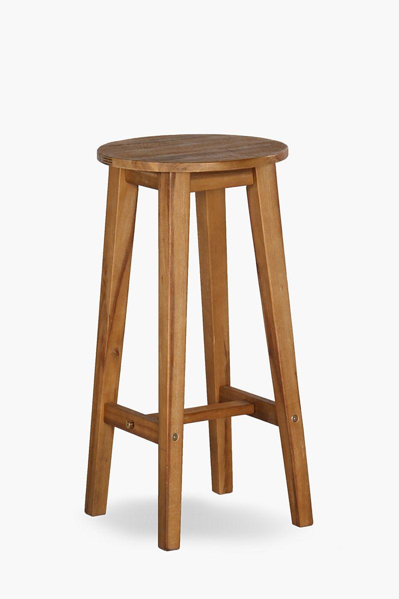 Acacia bar stool