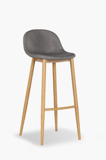 Cruz Upholstered Bar Chair