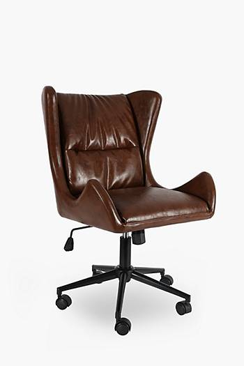 Wingback Pu Office Chair