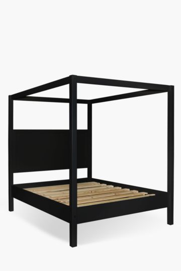 Wooden 4 Poster Queen Bed