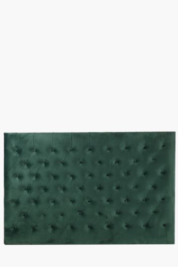 Regency Velvet Queen Headboard