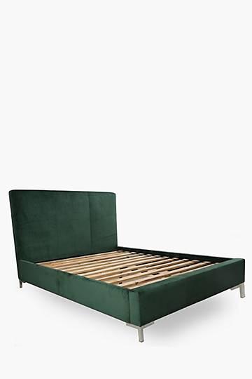 Isabella Queen Velvet Bed