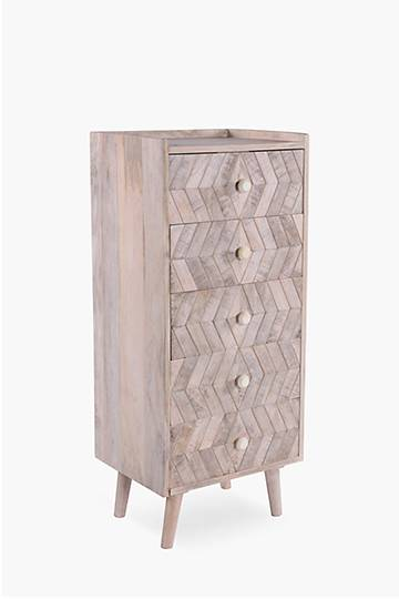 Orchha 5 Drawer Unit