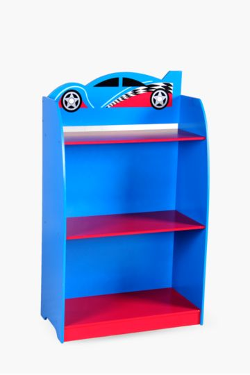 Racing Car Bookshelf