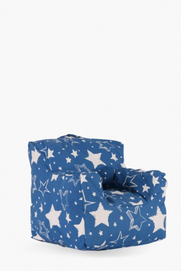 Sketchy Stars Bean Bag Chair