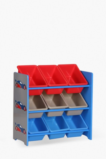 Racing Car Storage Shelf