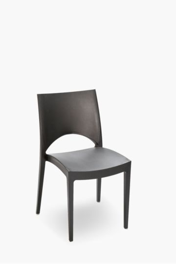 Moulded Plastic Patio Chair