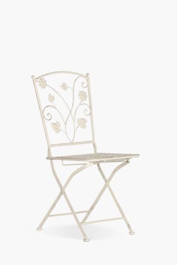 Floral Scroll Chair