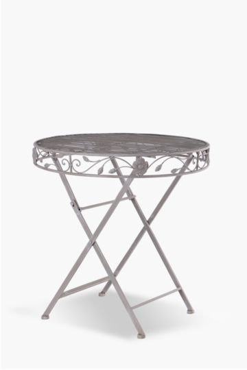 Metal Floral Table