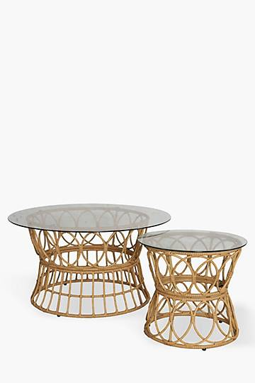 Bali Nested Coffee Table Set