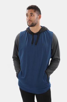 Sleeveless Fleece Hoodie