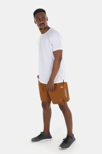 Knee-length Reflective Shorts
