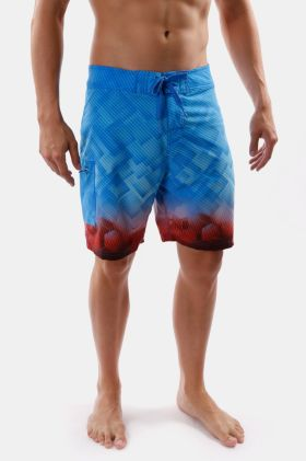 Fixed Waist Tie-front Boardies