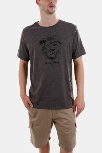 Print Polycotton T-shirt