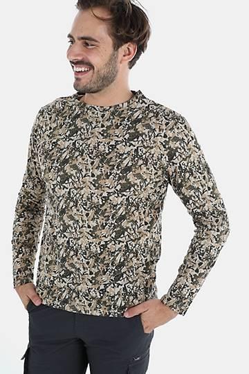 Camo Cotton Long Sleeve T-shirt