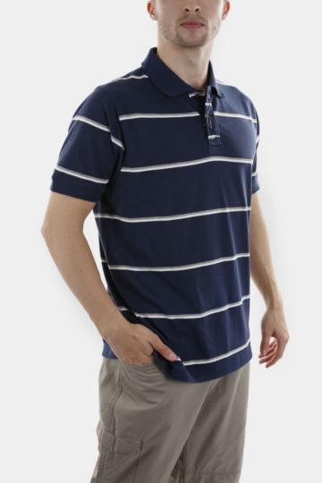 Striped Polycotton Golfer