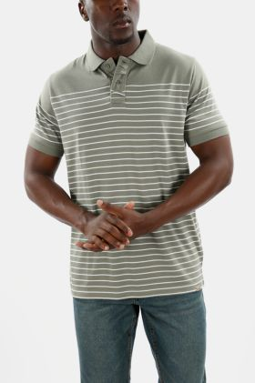 Striped Polycotton Golfer