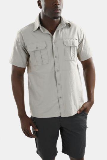 Nylon Technical Short Sleeve T-shirt