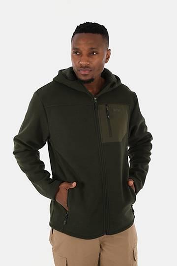 Sherpa-lined Zip-through Hoodie